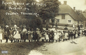 Ashbury Postcard 124
