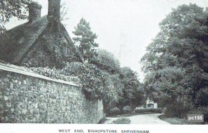 Bishopstone Postcard 155