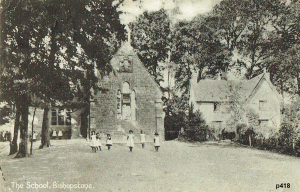 Bishopstone Postcard 418