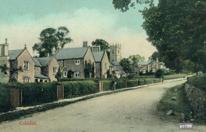 Coleshill Postcard 199