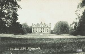 Coleshill Postcard 238