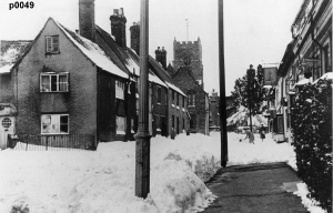 Highworth in the snow photograph 0049