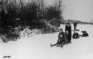 Highworth in the snow photograph 0193