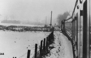 Highworth in the snow photograph 0644