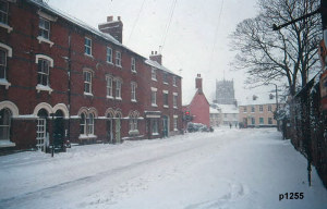 Highworth in the snow photograph 1255