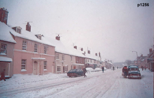 Highworth in the snow photograph 1256