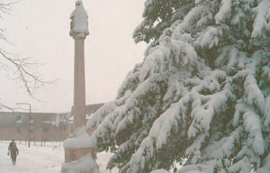 Highworth in the snow photograph 1257