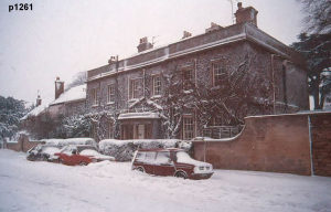 Highworth in the snow photograph 1261