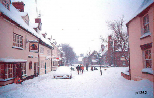 Highworth in the snow photograph 1262