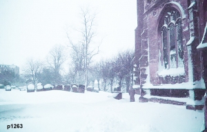 Highworth in the snow photograph 1263