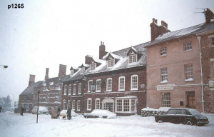 Highworth in the snow photograph 1265