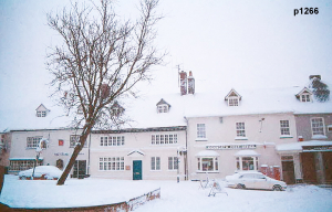 Highworth in the snow photograph 1266