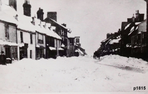 Highworth in the snow photograph 1815