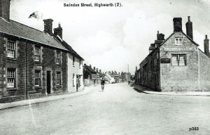 Highworth Postcard 303