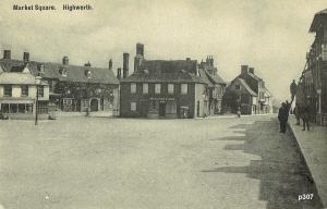 Highworth Postcard 307