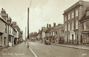Highworth Postcard 313