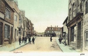 Highworth Postcard 314