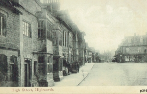 Highworth Postcard 316