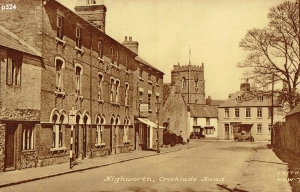 Highworth Postcard 324