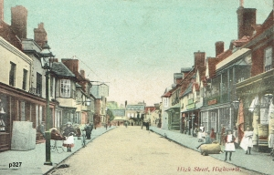Highworth Postcard 327