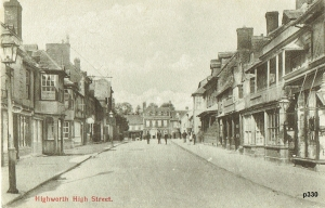 Highworth Postcard 330