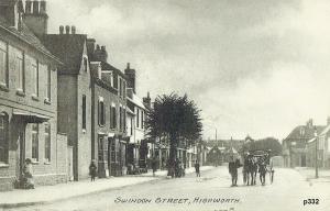 Highworth Postcard 332