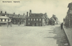 Highworth Postcard 333