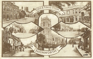 Highworth Postcard 369