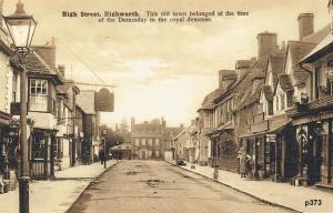 Highworth Postcard 373