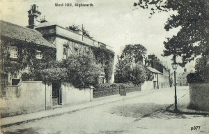 Highworth Postcard 377