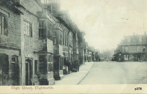 Highworth Postcard 378