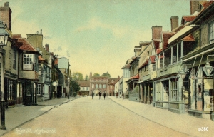 Highworth Postcard 380