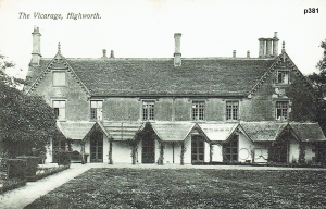 Highworth Postcard 381
