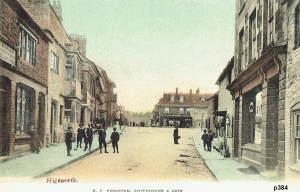Highworth Postcard 384