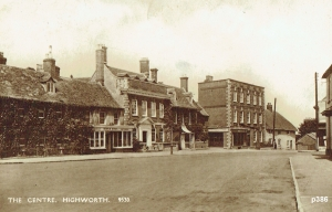 Highworth Postcard 386