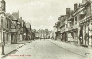 Highworth Postcard 387