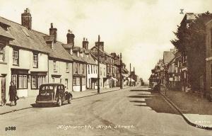 Highworth Postcard 388