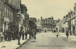Highworth Postcard 389