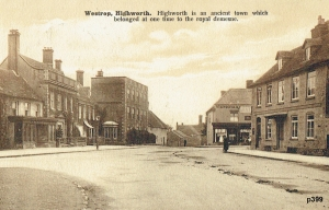 Highworth Postcard 399