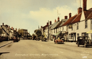 Highworth Postcard 402