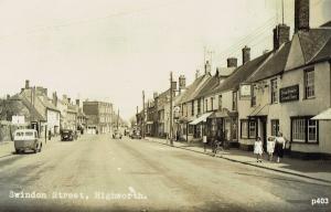 Highworth Postcard 403
