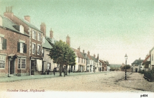 Highworth Postcard 404