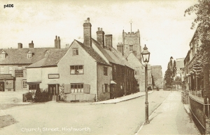 Highworth Postcard 406