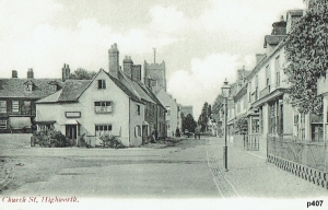 Highworth Postcard 407