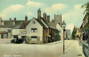 Highworth Postcard 408