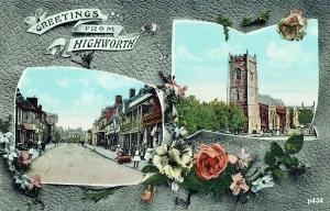 Highworth Postcard 434