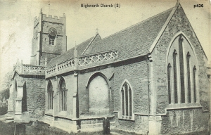Highworth Postcard 436