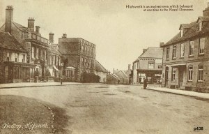 Highworth Postcard 438
