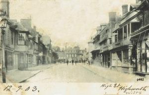 Highworth Postcard 462