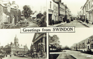 Stanton Fitzwarren Postcard 260